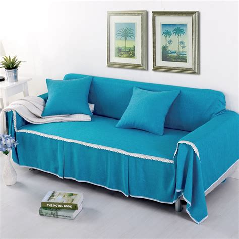 Sofa Covers For L Shaped Sofa Sunnyrain Solid Sofa Cover Sectional Sofa Covers L Shaped
