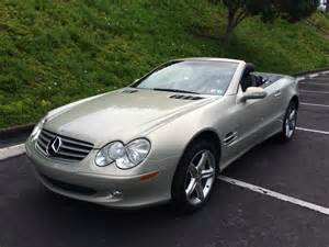 Mercedes Sl500 2003 2003 Mercedes Sl500 Silver On Black San Marcos