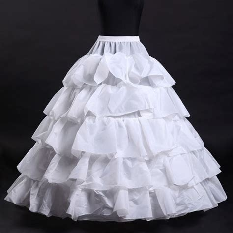 ebay petticoats newest bridal petticoat 4 hoop ruffle crinoline underskirt wedding dress skirt ebay