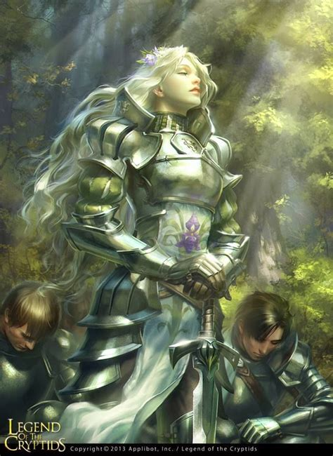 Allies In Healing she would be a great holy warrior healing allies and