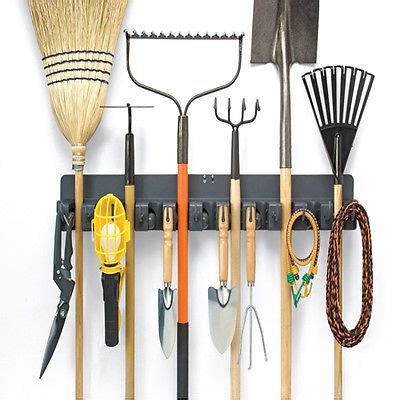room organizer tool tool organizer bar closet room brooms mops tools cleaning garden hanging rack what s it worth