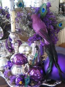Purple Silver Decorations Best 25 Purple Christmas Decorations Ideas On Pinterest