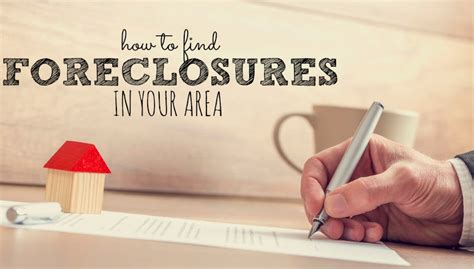 How To Search For On In Your Area How To Find Foreclosures In Your Area Single Income