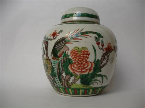 chinese ginger jars antiques atlas 19th century chinese famille verte ginger jar