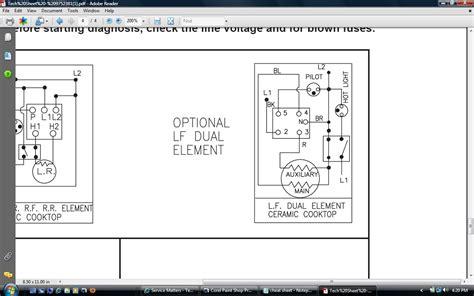 the dual element on the stovetop of my kitchenaid range ykerc500ew1 no longer has any