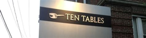 Ten Tables Cambridge by Ten Tables Harvard Square Cambridge Now Closed