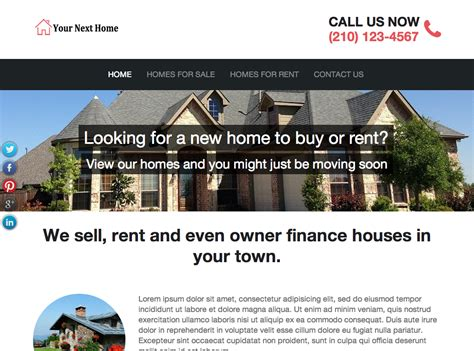 best house buying websites best real estate investor website templates