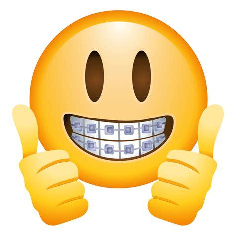 emoji png braces emoji transparent png stickpng