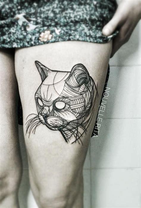 cat king tattoo nouvelle rita cat tattoo tattoos pinterest stil