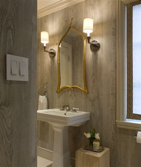 wallpaper for bathroom walls what you didn t know about faux textured wallpaper