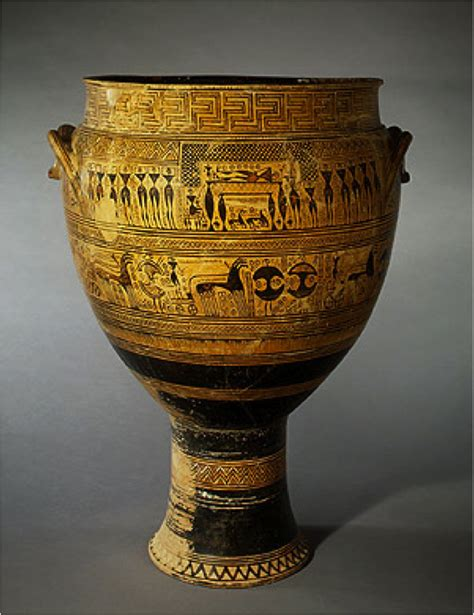 Funerary Vase Krater by Ancient Egyptians At Virginia Commonwealth