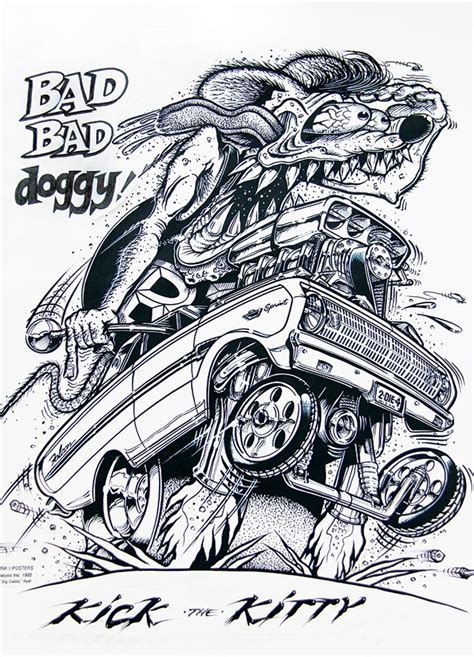 utah boat lettering ed quot big daddy quot roth rat fink visual art salt lake