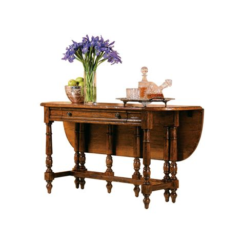 Front Desk Table by Hekman 8 7233 Rue De Bac Drop Front Dining Table Sideboard