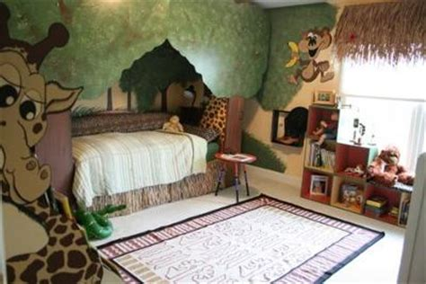 jungle themed bedroom jungle themed child bedroom