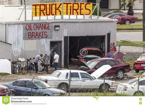 Backyard Bbq Dallas by Car Repair Shop Editorial Image Image Of Repairman