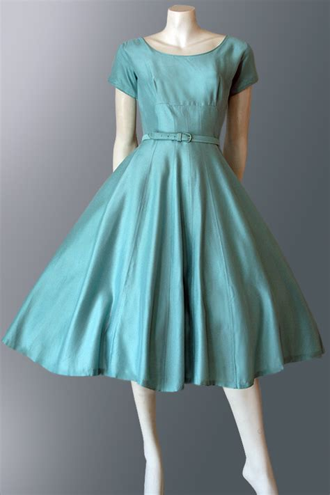 1950s dress with skirt vintage clothing genuine