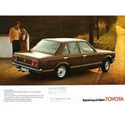 1977 Toyota Carina Brochure