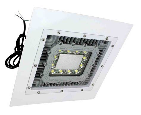 Paint Booth Light Fixtures Low Profile Explosion Proof Led Light 2x2 Lay In Troffer Class 1 Div 1 2 Paint Spray