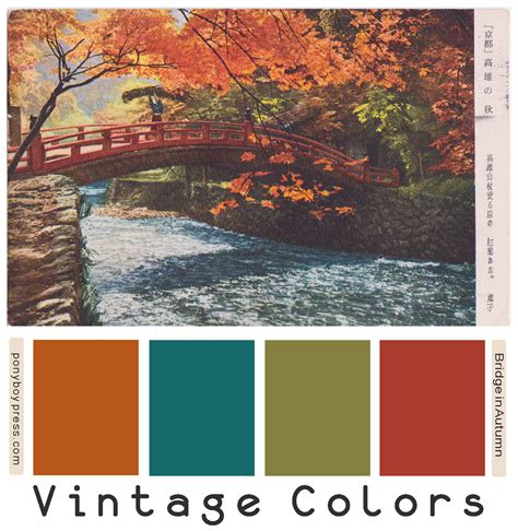 fall color schemes ponyboy press zine maker design lover dedicated