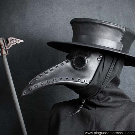 How To Make A Plague Doctor Mask With Paper Mache - history of the black and the plague doctor