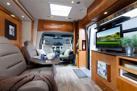 Winnebago Fifth Wheel Floor Plans leisure travel vans introduces 2013 unity corner bed