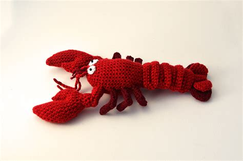 cute lobster pattern crochet pattern lobster flying dutchman crochet design