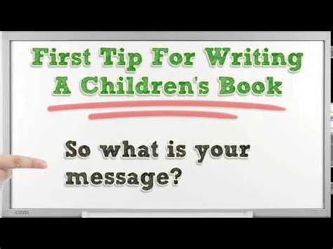 writing a children s picture book three tips for writing a children s book that will