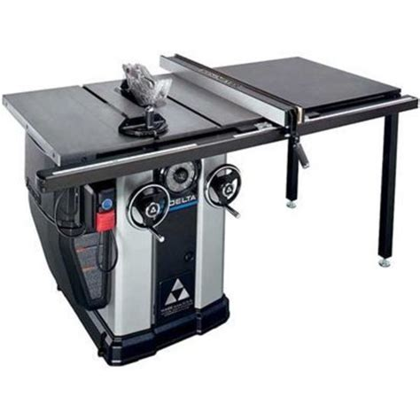 delta table saw accessories delta 36 l536 unisaw tablesaw with 36 quot fence system hermance
