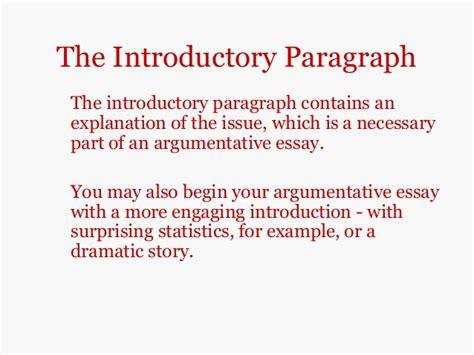 Argumentative Essay Introduction Paragraph by Introduction Paragraph Of Argumentative Essay
