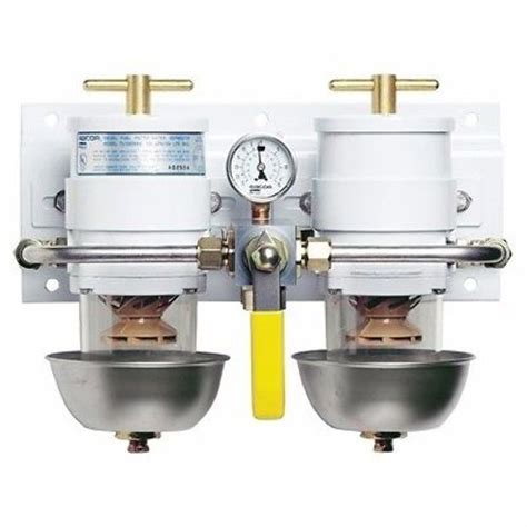 parker boats fuel efficiency racor fuel filter water separator max dual ff ws rotary