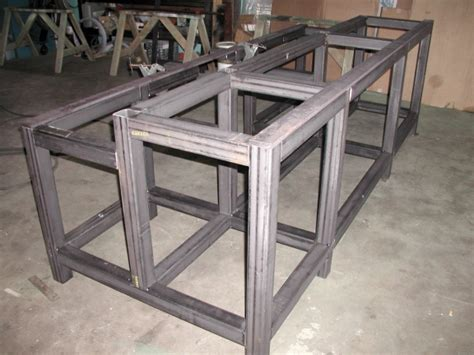 Handmade Machine Frames - custom welding and fabrication by packard inc