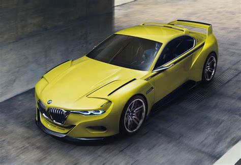 Bmw 3 0 Csl Hommage Concept Unveiled At Concorso D
