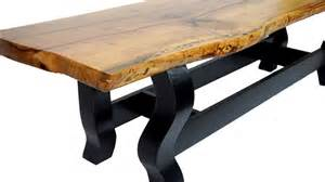 live edge pecan coffee table available now