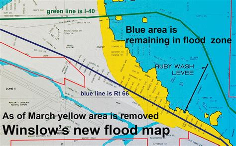 colorado flood plain map fema finalizes winslow s flood plain map navajo hopi