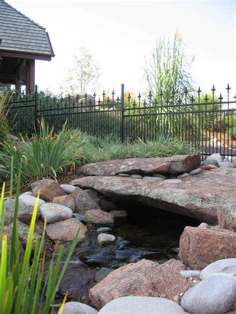 Landscape Supply Greeley Rustic Water Feature Greeley Rustic Landscape Denver