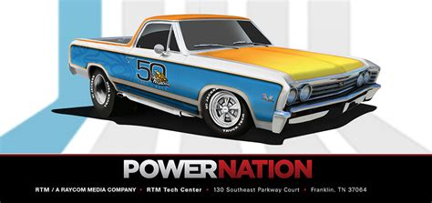 Detroit Muscle Giveaway - rtm announces the gabriel hijackers 50th anniversary el camino sweepstakes powernation