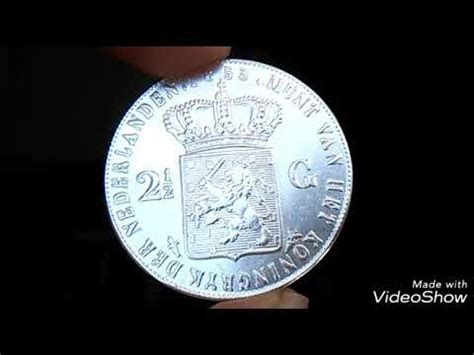Koin Perak 2 1 2 Gulden Tahun 1847 Koin Perak Asli Ki Promo Koin 2 1 2 Gulden Willem Iii Koning Tahun 1853 Jgn Lupa