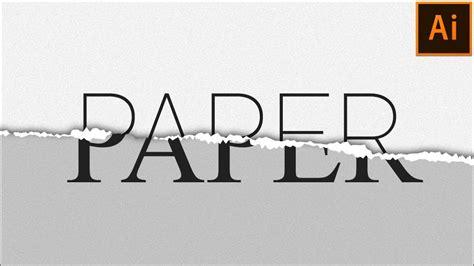 Illustrator Pattern Edge | torn paper effect in illustrator adobe illustrator