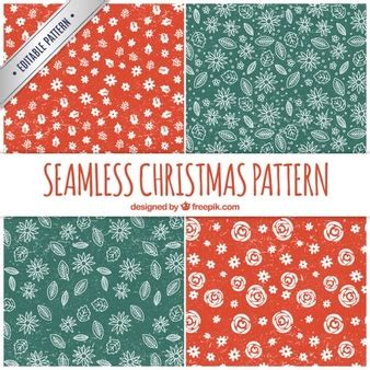 christmas patterns year 1 seal pattern vectors photos and psd files free download