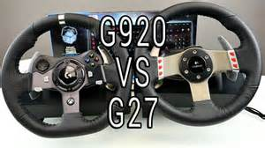 Steering Wheel Xbox One Logitech Logitech G27 Vs G920 Unboxing Test Worth The Upgrade