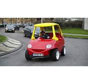 A Road Legal Little Tikes Cosy Coupe For Not So