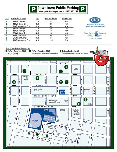 Indianapolis Convention Center Floor Plan by Fort Wayne Maps And Links Indiana Music Education