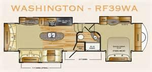 rushmore rv floor plans 2013 crossroads rushmore washington rf39wa used 5th wheel