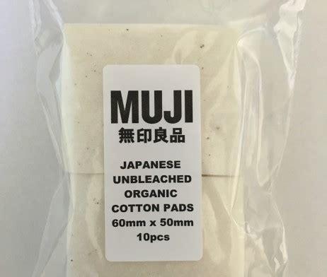 Focusecig Japanese Muji Organic Cotton Pads 10 Lembar White 1 muji japanese unbleached organic cotton pads 10 pack vapable