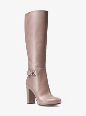 julianna leather boot | michael kors