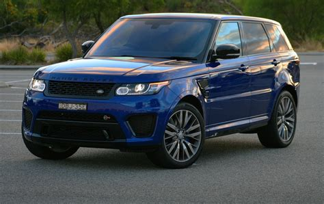 range rover svr 2016 range rover sport svr 2016 review loaded 4x4
