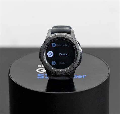Samsung Frontier Smartwatch samsung galaxy gear s3 frontier smartwatch sm r760 smart