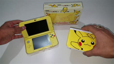 New 3ds Xl Pikachu Yellow Edition New new 3ds xl pikachu yellow edition unboxing