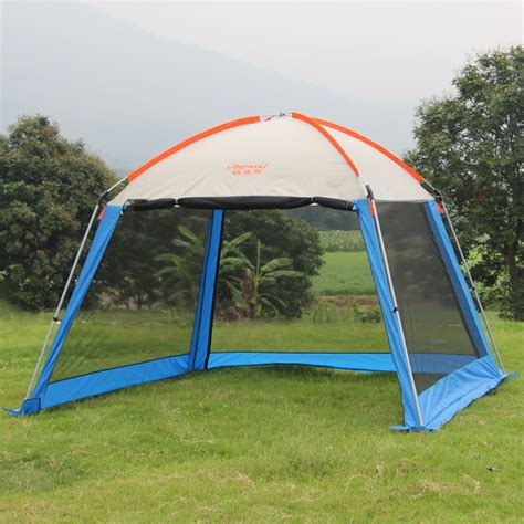 tent awning outdoor double layer awning beach tent sun shelter cing
