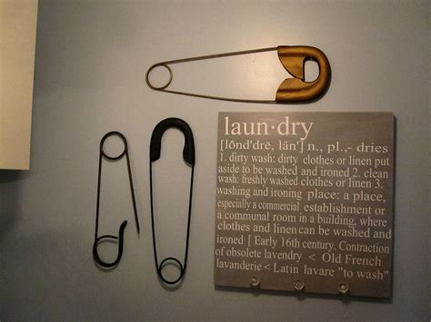 ballard design laundry sign ballard designs safety pins plaque infarrantly creative